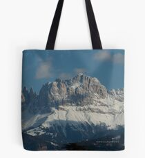 Bolsa de tela Snow on the Dolomites, Bolzano/Bozen, Italy