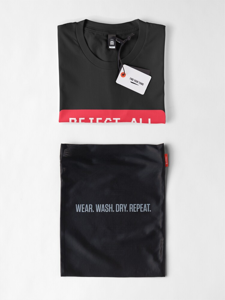 Alternate view of Reject All Premium T-Shirt
