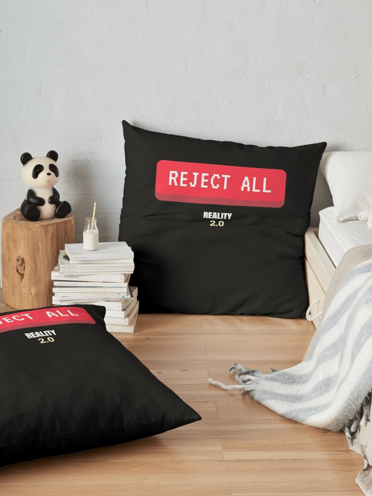 Alternate view of Reject All Floor Pillow