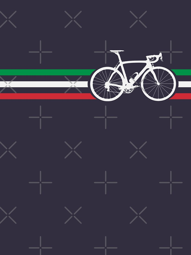 Bike Stripes Italian National Road Race v2 | Unisex T-Shirt