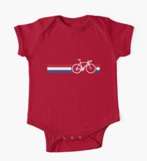 Bike Stripes Netherlands National Road Race One Piece - Short Sleeve