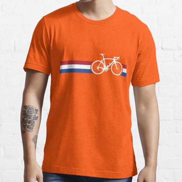 Bike Stripes Netherlands National Road Race Essential T-Shirt