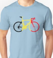 Bike Flag Belgium (Big) Unisex T-Shirt