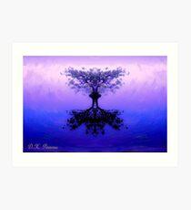 Tree of Reflection Art Print