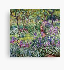 Claude Monet - The Artist s Garden In Giverny 1900  Canvas Print