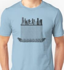 A city dissected 2 Unisex T-Shirt