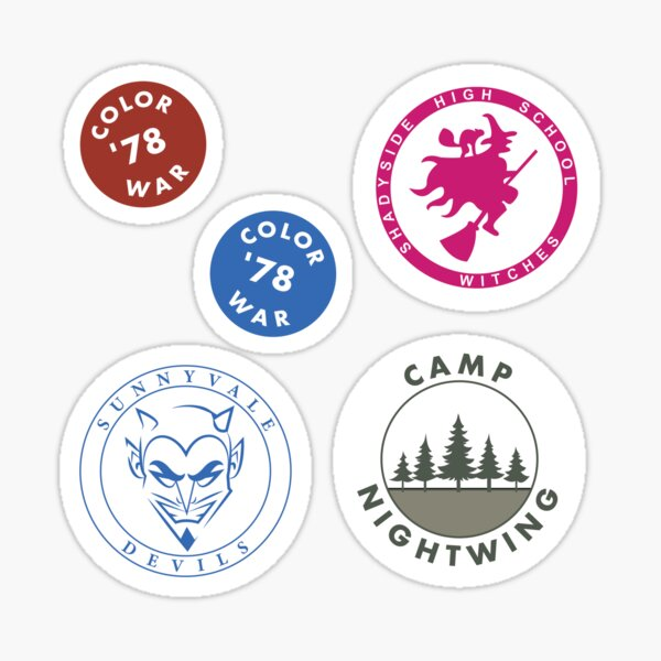 FEAR STREET Sticker Pack High Quality Sticker