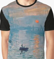 Claude Monet - Impression Sunrise 1872 Graphic T-Shirt