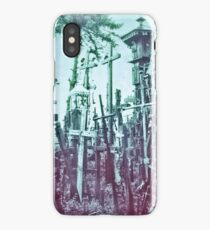 The Hill of Crosses iPhone Case