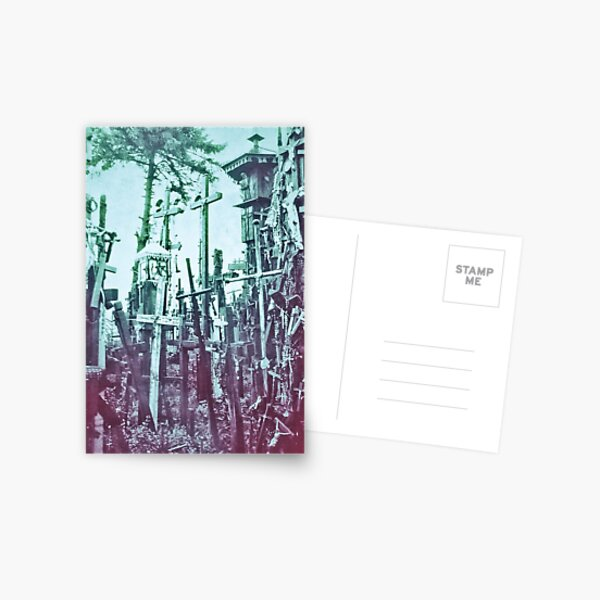 The Hill of Crosses Postcard