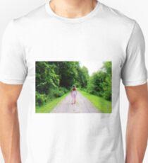 Fairy Walking Down Road Unisex T-Shirt