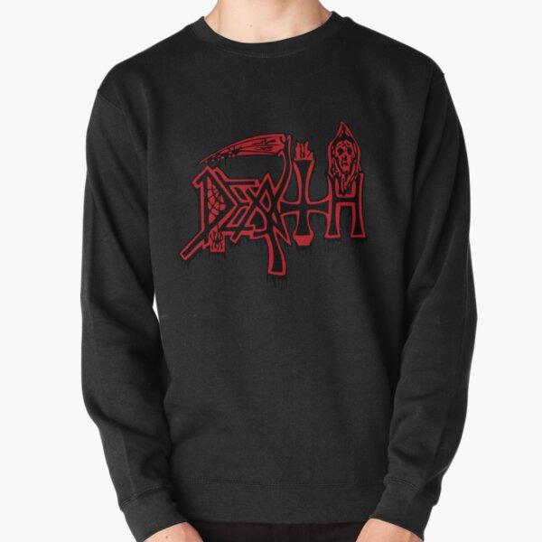 DEATH LOGO Pullover Sweatshirt