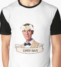 Camiseta gráfica Reglas de la ciencia de Bill Nye