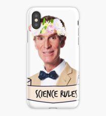 Bill Nye Science Rules iPhone Case/Skin
