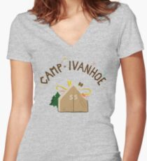 Camp Ivanhoe Women's Fitted V-Neck T-Shirt