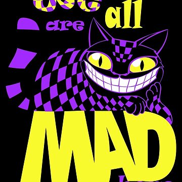Cheshire Cat - Alice in Wonderland by starstuffstore