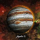 Planet Jupiter in Space by Justin Beck
