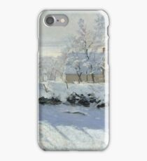 Claude Monet - The Magpie 1869  iPhone Case/Skin