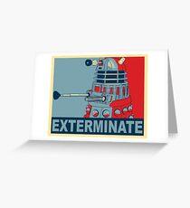 Dalek Hope Greeting Card