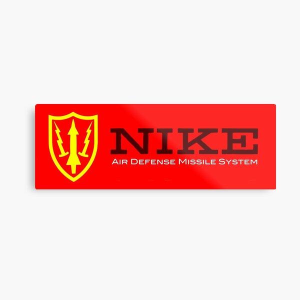 Nike Air Defense Missile System Emblem-Americana Metal Print