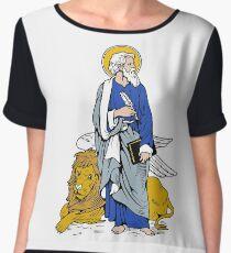ST MARK THE APOSTLE Women's Chiffon Top