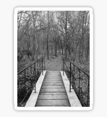 Forest Bridge Sticker