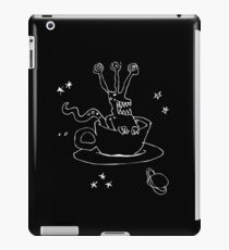 flying cup and saucer iPad Case/Skin