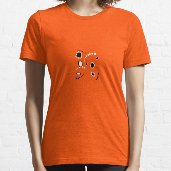 Dreamtime in Red and Black Essential T-Shirt