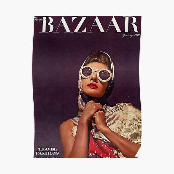 Harper's Bazaar Junuari 1942 Poster
