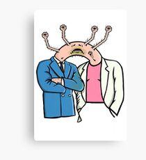 Miami Vice gone wrong.  Canvas Print