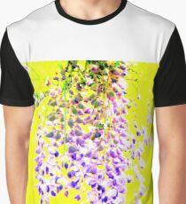 Fragrant Wisteria Graphic T-Shirt