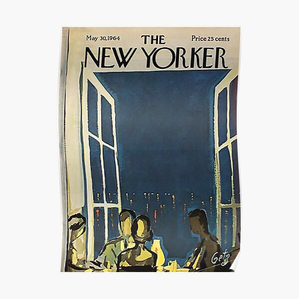 The New Yorker Magazine May 1964 Poster