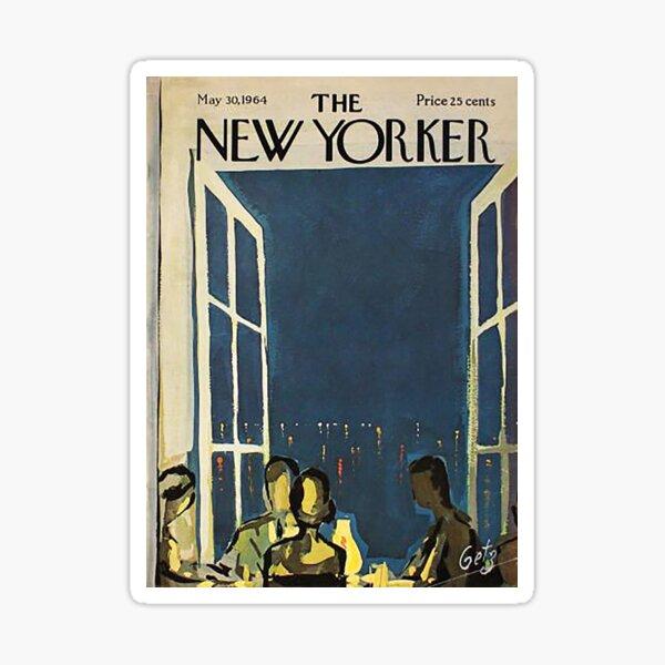 The New Yorker Magazine May 1964 Sticker