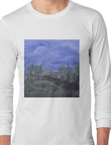 Strolling through the Trees  Long Sleeve T-Shirt
