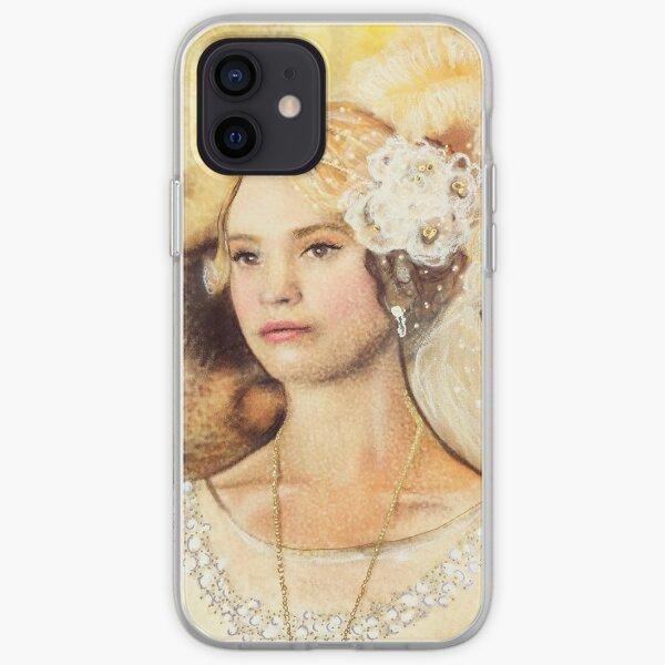 Blushing Rose iPhone Soft Case