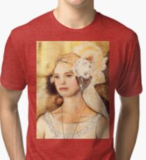 Blushing Rose Tri-blend T-Shirt