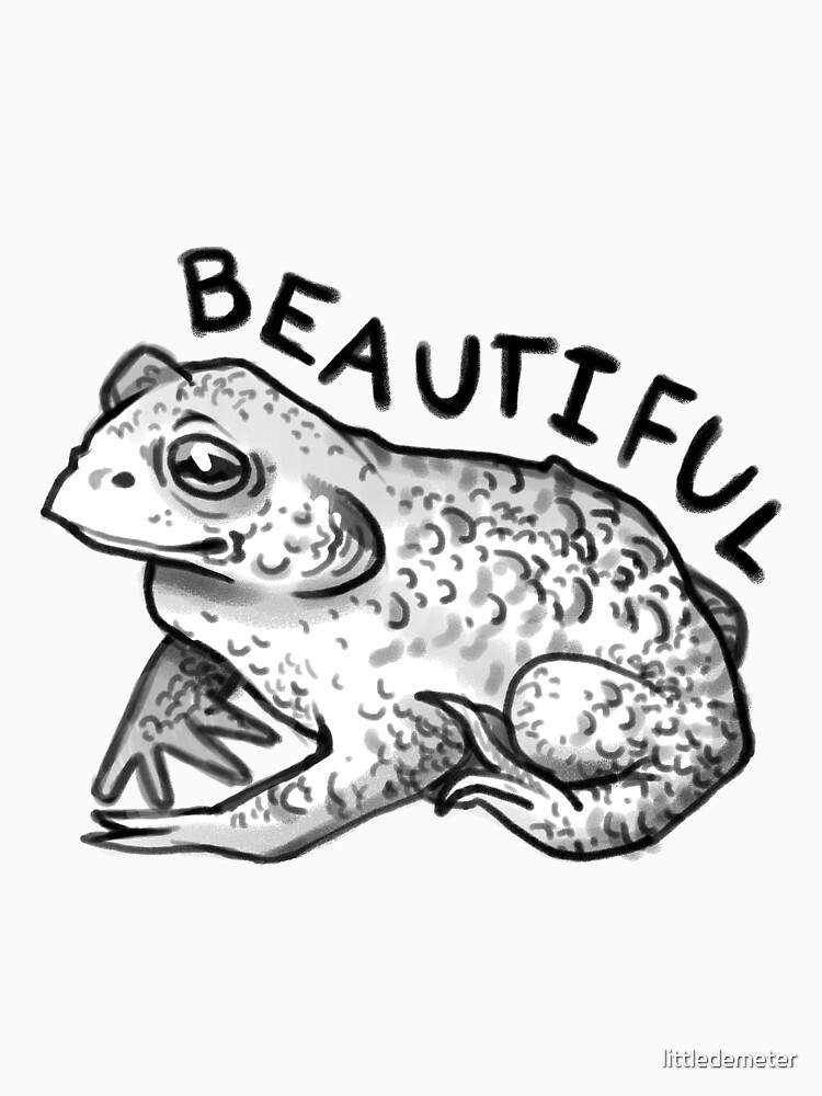 Worlds Most Beautiful Toad by littledemeter