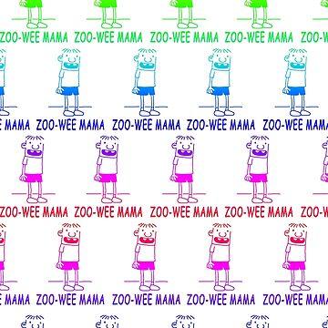 ZOO-WEE MAMA Rainbow by ToxicFart