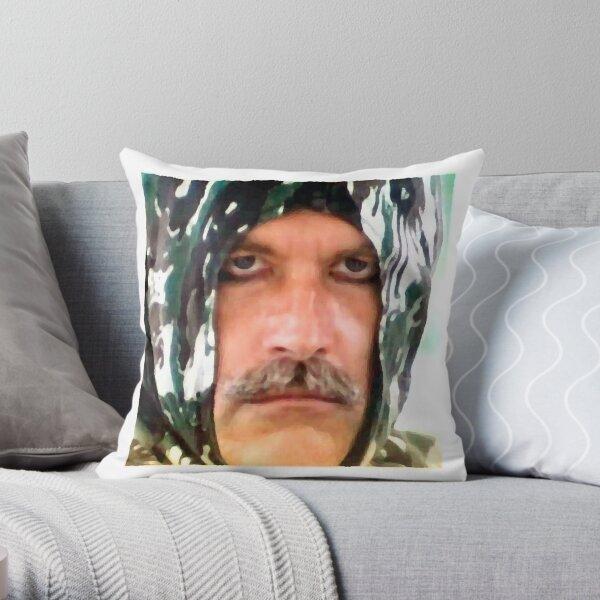 This is serious ninja Throw Pillow