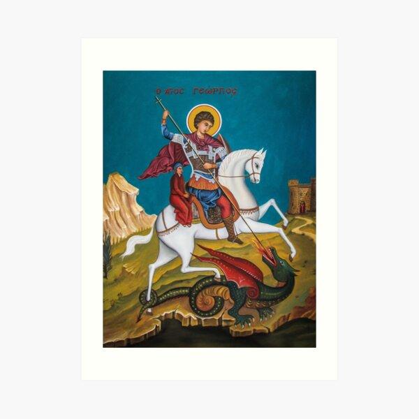 Saint George Art Print