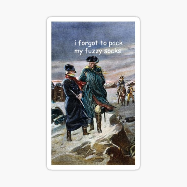 Lafayette's cold  Sticker