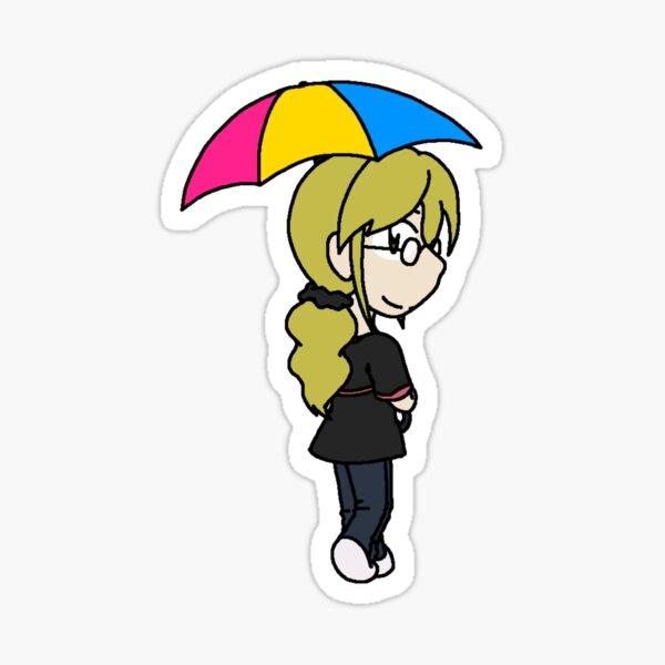 RAIN - Chibi Emily 2 Sticker