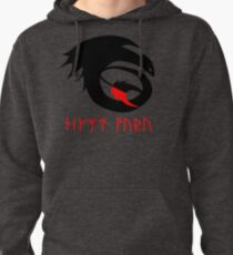 dragon training symbol with night fury written in runes. Pullover Hoodie