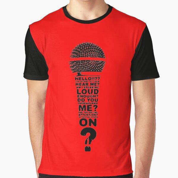 One Mic  Graphic T-Shirt