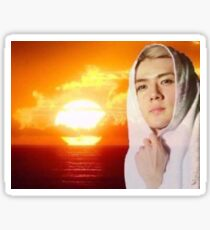 Sunset Sehun Sticker