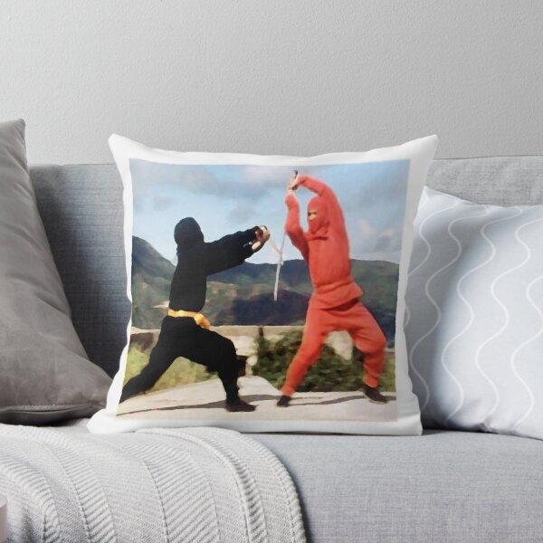 Only a ninja can kill a ninja Throw Pillow