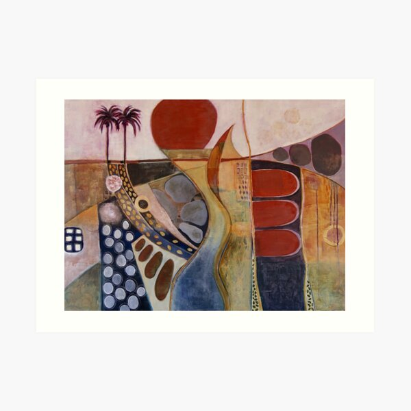 Moroccan Sunset Art Print