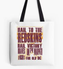 Redskins - Fight Song Tote Bag
