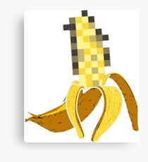 Naked Banana Canvas Print