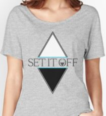 Set it off logog Women's Relaxed Fit T-Shirt